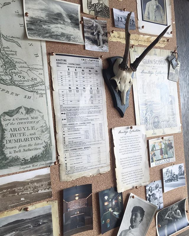Today we were working on an amazing window installation for an equally amazing collaboration.  #windowdesign #windowdisplay #vm #styling #stylist #studio #studiolife #workshop #design #scotland #whisky #vintage #heritage #tweed #pinboard #moodboard #artdirection #artdirector