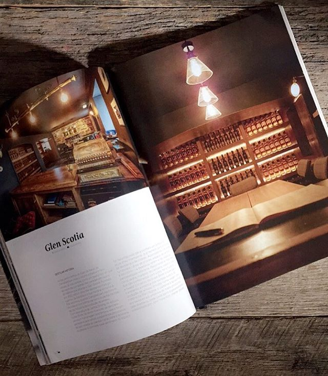 Here it is! Our piece in @trends_knowthedifference magazine on our work at the @glenscotia5 distillery! Unbelievable. 📷: Colin Homes @cihomes  #interior #interiors #interior123 #interior4all #interiordecor #magazine #press #pressrelease #whisky #scotland #bespoke #bespokedesign #trendsmag #creative