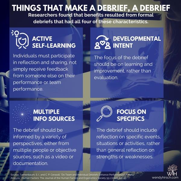 DebriefCharacteristics
