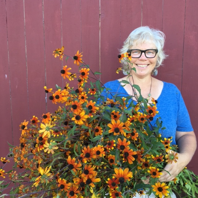 Sunday, June 4th 10 am to noon. Have you always wanted to have a lush, flowery cutting patch? If so, this is the workshop for you! We will be diving in to all the wonderful parts of growing your own cut flowers. The workshop will be led by Nina Foster, a flower obsessed grower with more than 15 years of experience in the flower world.  We will go over all the magical varieties of cutting flowers and herbs that Red Wagon has for you to plant now! We will then move on to the how-to of: Prepping beds and pots Planting Compost and fertilizers Succession planting Pinching for more blooms Cutting tips More Come meet other flower lovers and join the sustainable flower movement. This is the first part in our cut flower series. Part 2, in August, will be about flower harvesting, post-harvest handling, and arranging. We are so excited to share Nina's experience and passion with you.  About our beloved presenter.... Nina Foster has a life long love for all things flora and fauna. Raised in rural Vermont, she spent much of her time wandering through the picturesque fields, meadows and forests,  foraging, gathering and harvesting flowers, weeds, grasses and vine. Nina followed her older sister to Washington State in her twenties. She landed in the stunningly beautiful Skagit Valley where she settled, married and started a family. Wanting to be home with her daughter, here, she began Trillium Finch, a small flower farm and design studio. She grew all of the unique blooms and foliages she loved for her design work and she spent her time selling at farmers markets, delivering to local businesses and collaborating on events.  Over the years Nina has trained and worked with some of the floral industries finest, including designers, Amy Merrick, Susan McLeary of Passion Flower, Jill Rizzo of Studio Choo and her dear friend, Erin Benzakein, of Floret. Nina is currently part of 'Team Floret' and travels to Washington State to assist at Floret work shops throughout the growing season.  In 2011, Nina, her husband, John, their daughter, Lily, and constant companion, Star, the Australian Shepard, relocated back to her home state of Vermont. They reside in Hinesburg where Nina is thrilled to be preparing Trillium Finch's first Vermont flower patch! You can follow Nina's journey on Instagram @ninadfoster. Please register here.