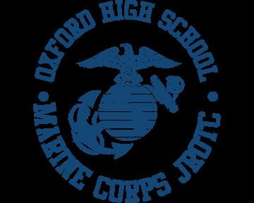 Oxford High School Marine Corps JROTC - blueclock dark blue.png