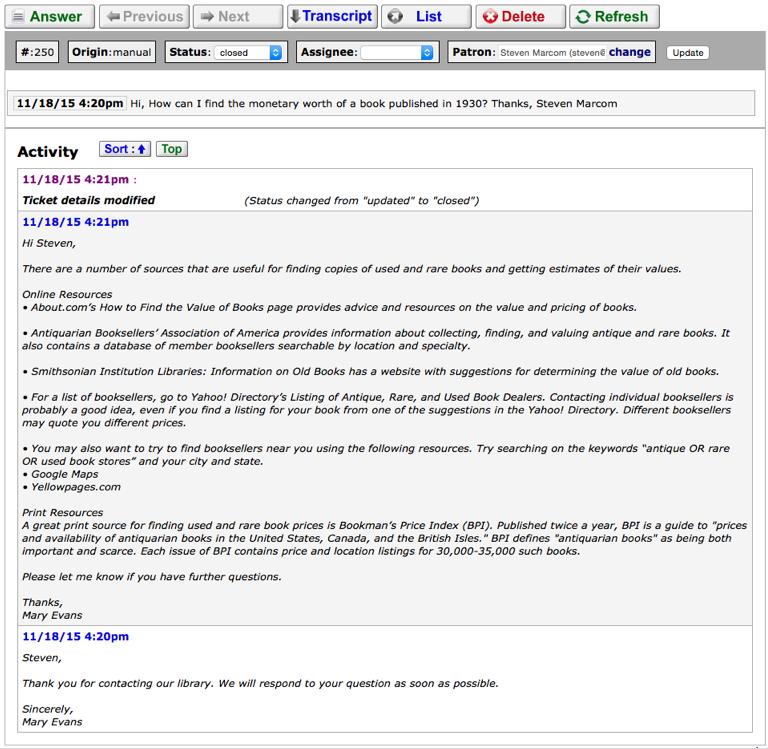 knowledge tracker compendium library services