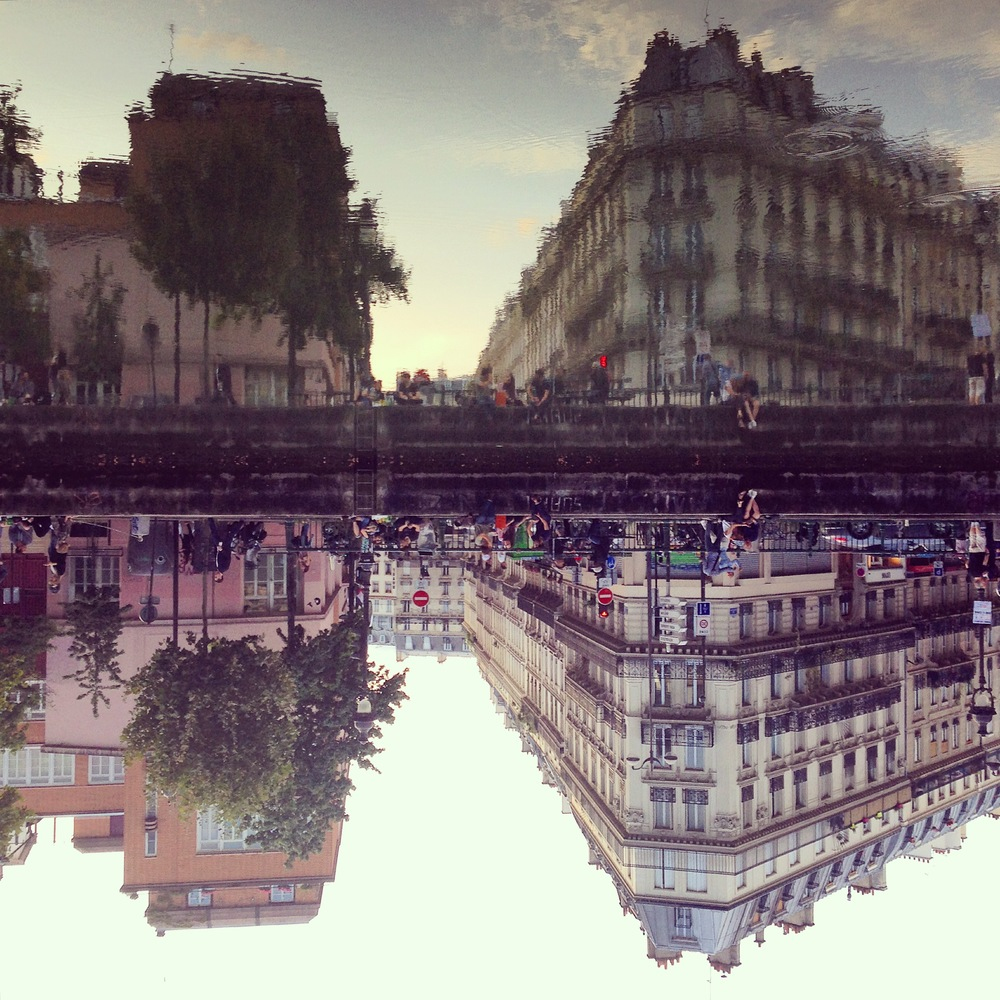 Canal Saint-Martin, Paris, 2014