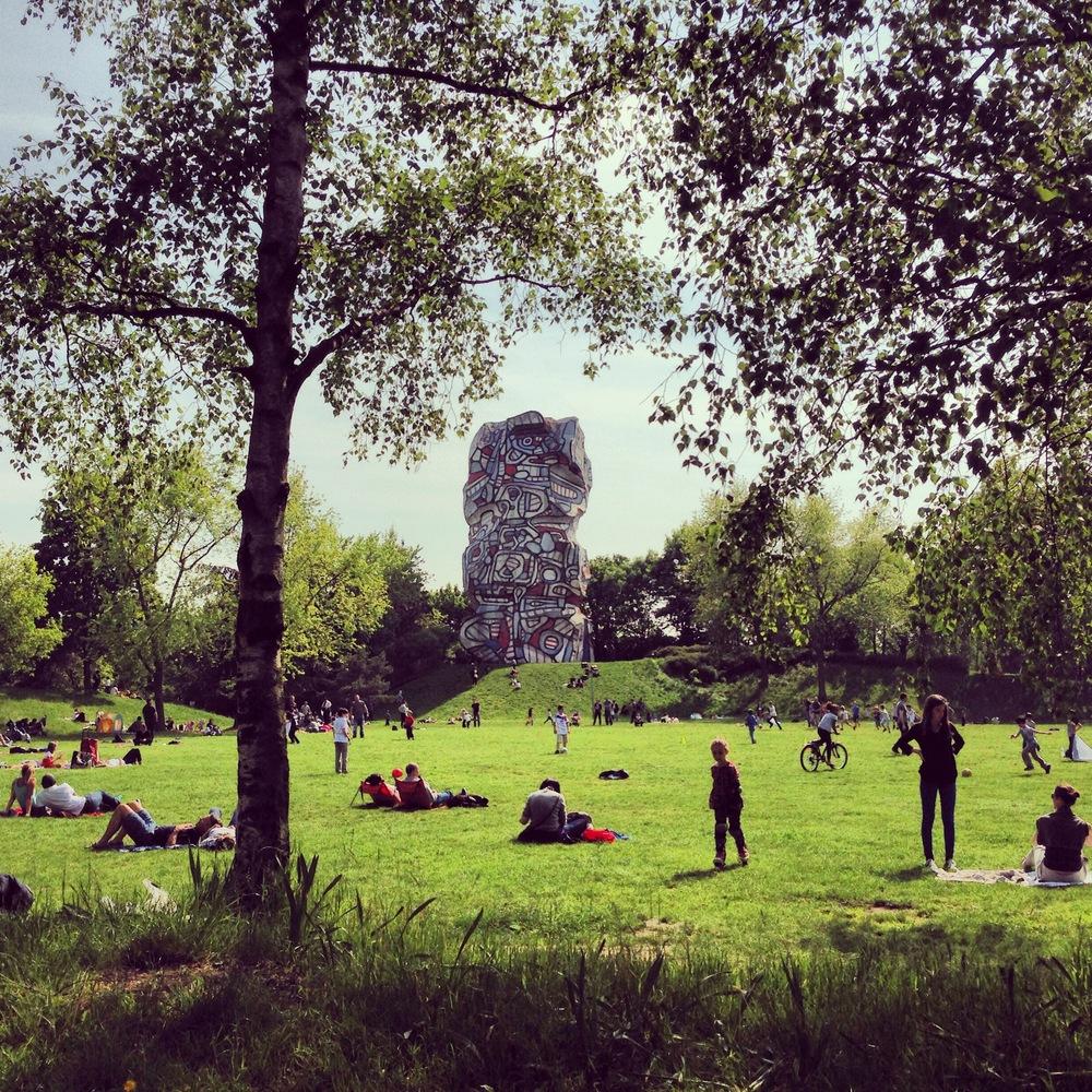 Parc de l'Ile Saint Germain, Paris, 2014