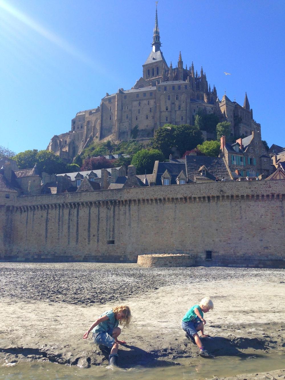 Mont Saint-Michel, Normandie, 2015
