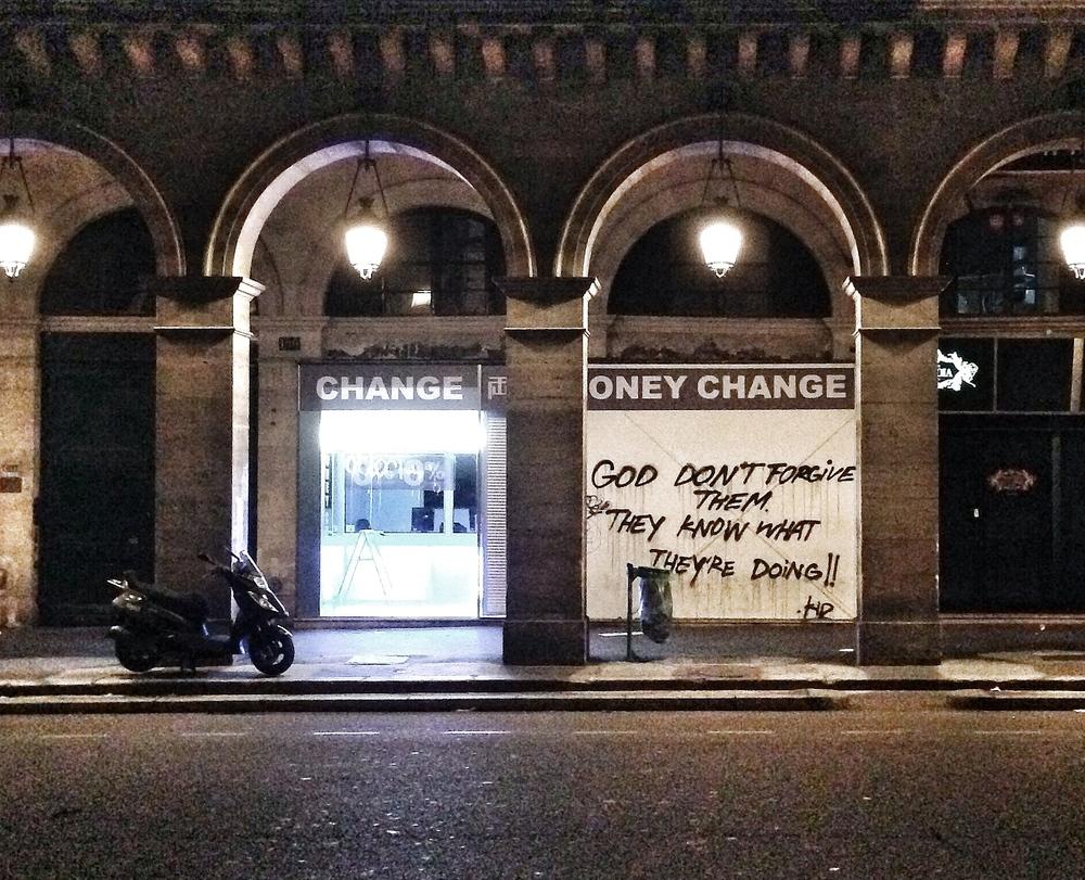Rue Rivoli, Paris, 2014