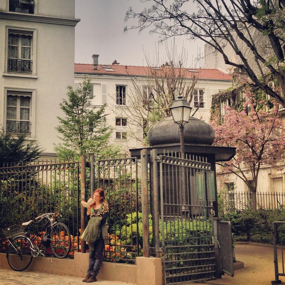 Place des Abbesses, Paris, 2014
