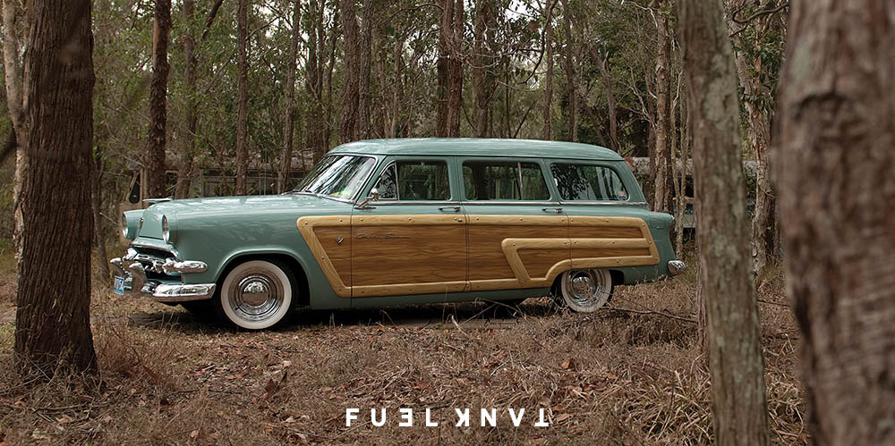 1954 Ford Country Squire — Fuel Tank