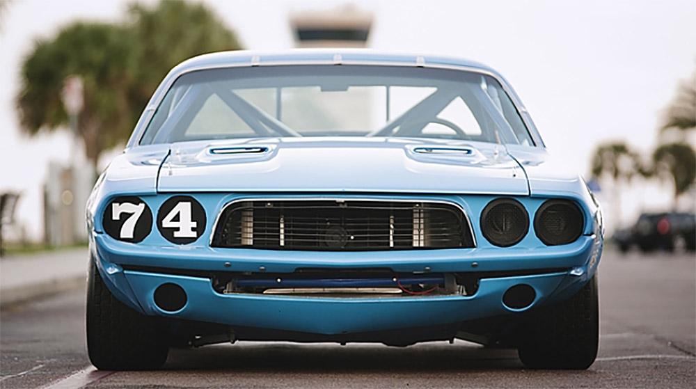 Kit Racer: 1973 Dodge Challenger Race Car — Fuel Tank