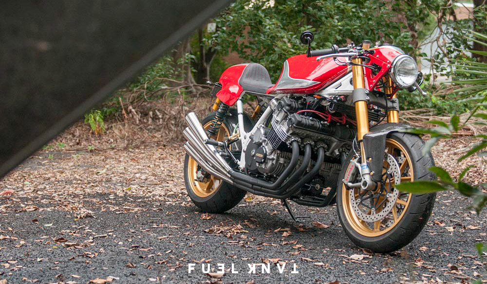 The Design Of RAW Honda CBX1000 Was Based On Idea A Modern Factory Prototype CBX Cafe Racer Its Bike That I Wish Would Have Built As