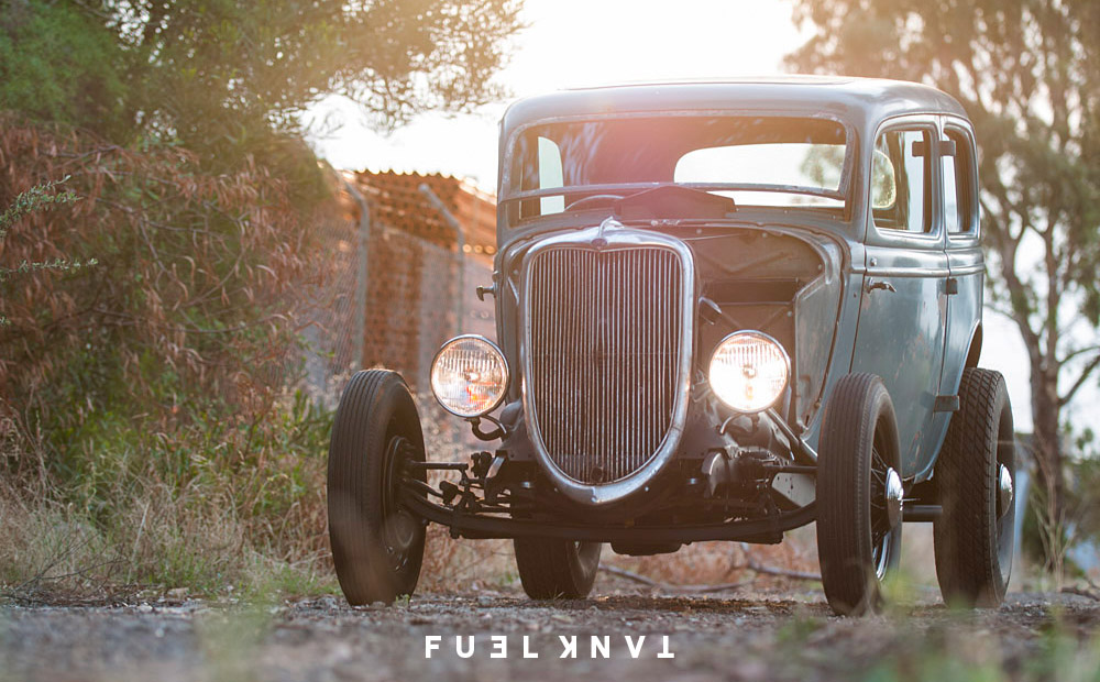 Hot Rod: The Gilbert 1934 Ford Tudor — Fuel Tank
