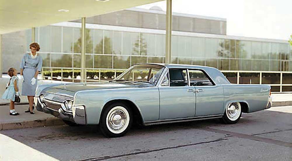 design detail the 1961 lincoln continental fuel tank. Black Bedroom Furniture Sets. Home Design Ideas