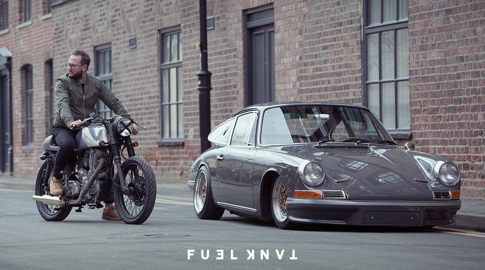 London Outlaw Richard Colvill S 1968 Custom Porsche 911t Fuel Tank