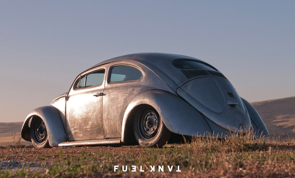 Extreme Dream Roof Chopped Bare Metal 1965 Volkswagen