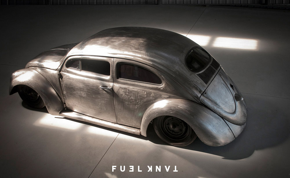 Extreme Dream: Roof Chopped, Bare Metal 1965 Volkswagen