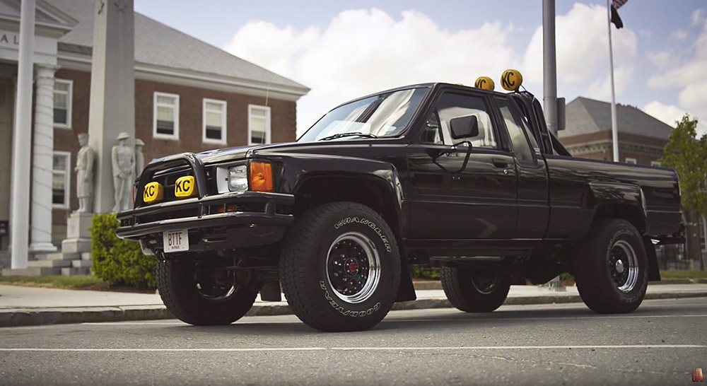 Auto Film 1985 Toyota Sr5 Xtra Cab Marty S Back To The