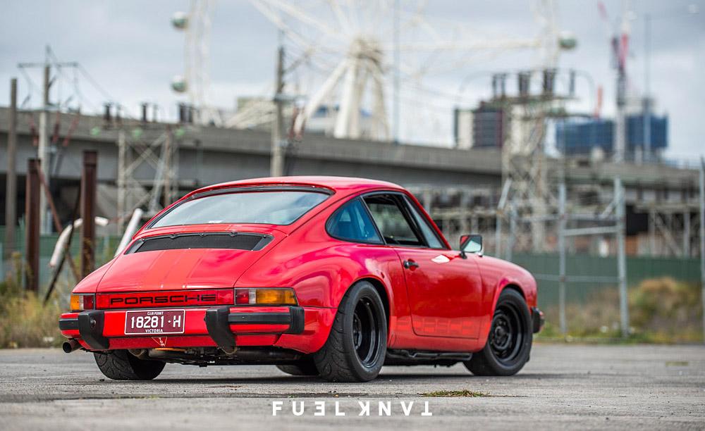 Melbourne Outlaw Hugh Feggans Custom 1977 3 0l Porsche