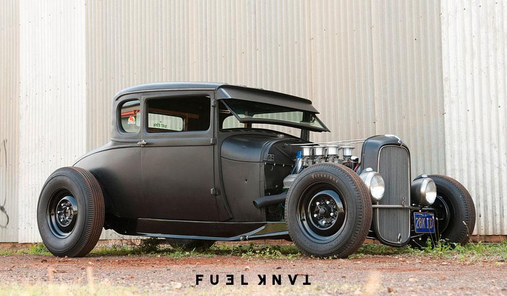 A Family Affair: The Toowoomba Hot Rod & Custom Workshop — Fuel Tank