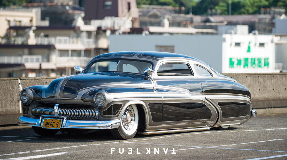 Number Nine] — Isamu Kondo\'s 1949 Mercury Custom — Fuel Tank