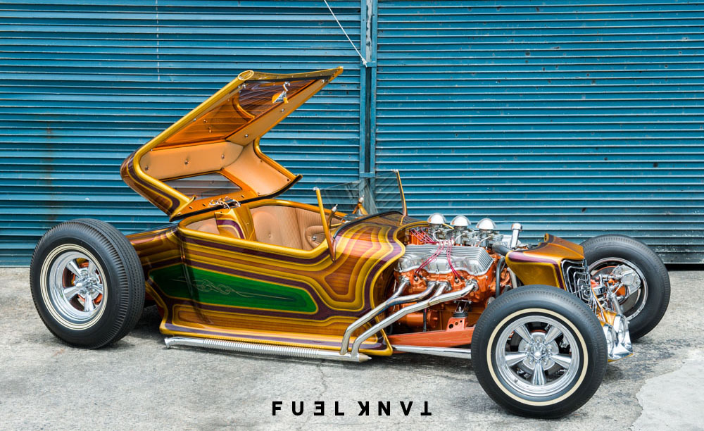 Paradise Road: Home To The Wild Galaxian 1927 Ford Model T Roadster ...