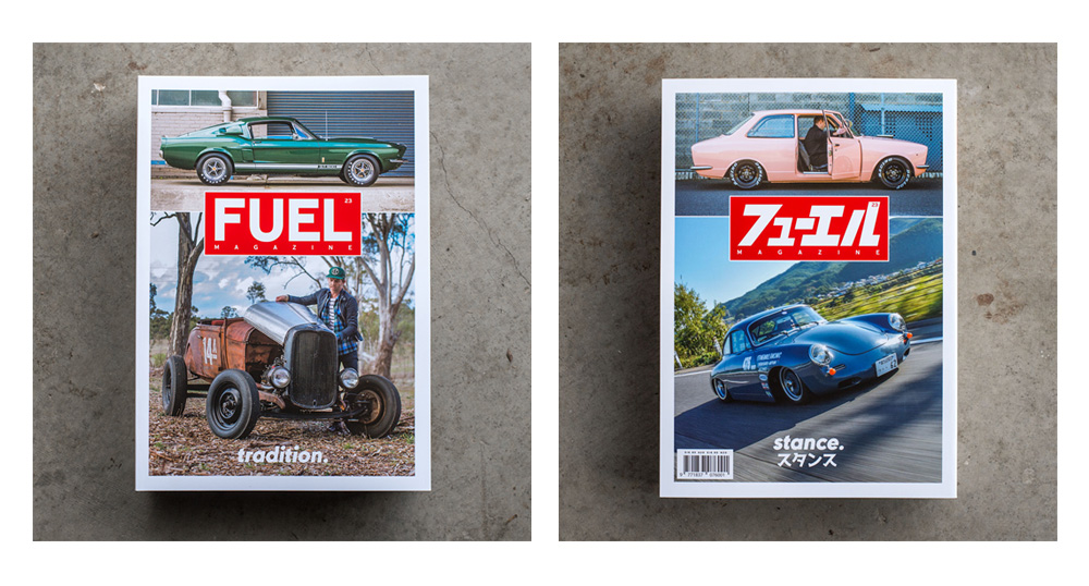 Fuel Magazine #23 is now available.  Click here for details.