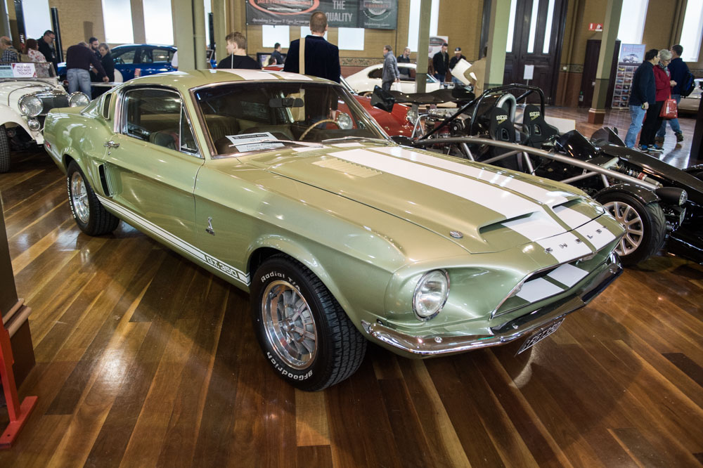 1968 Shelby GT350.
