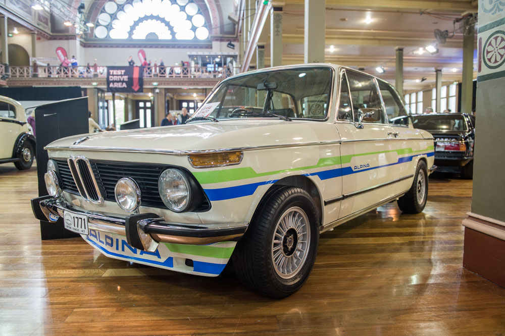 1974 BMW 2002 Tii Alpina A4 Coupe Replica.