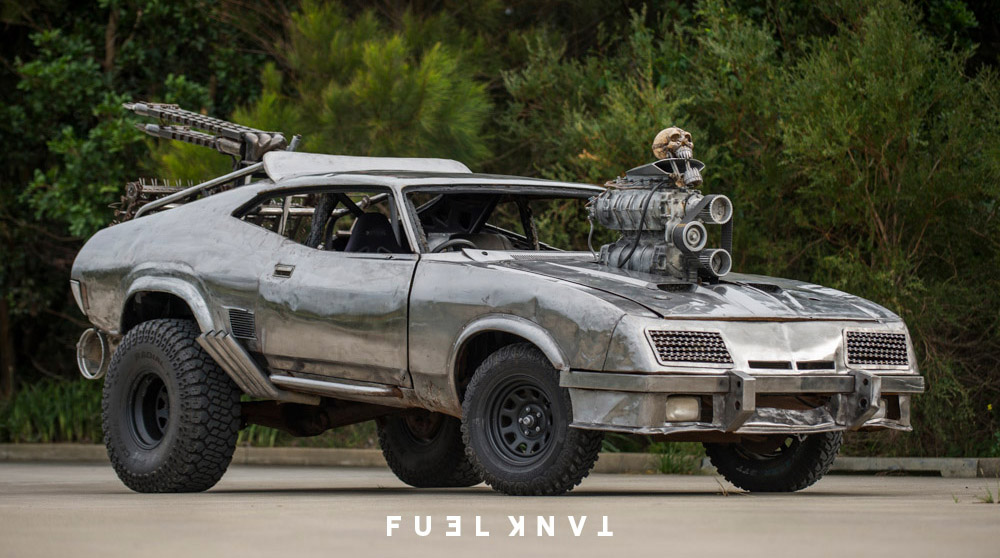Australian Made — The Cars Of Mad Max: Fury Road — Fuel Tank