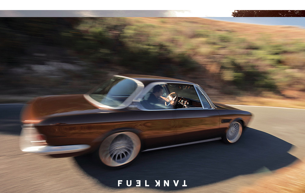 Euro Low: Cole Foster\'s 1971 E9 BMW 2800 CS — Fuel Tank
