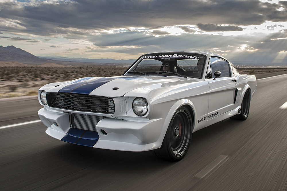 Pony Car Evolution: GT350CR Pro-Touring Shelby Mustang — Fuel Tank