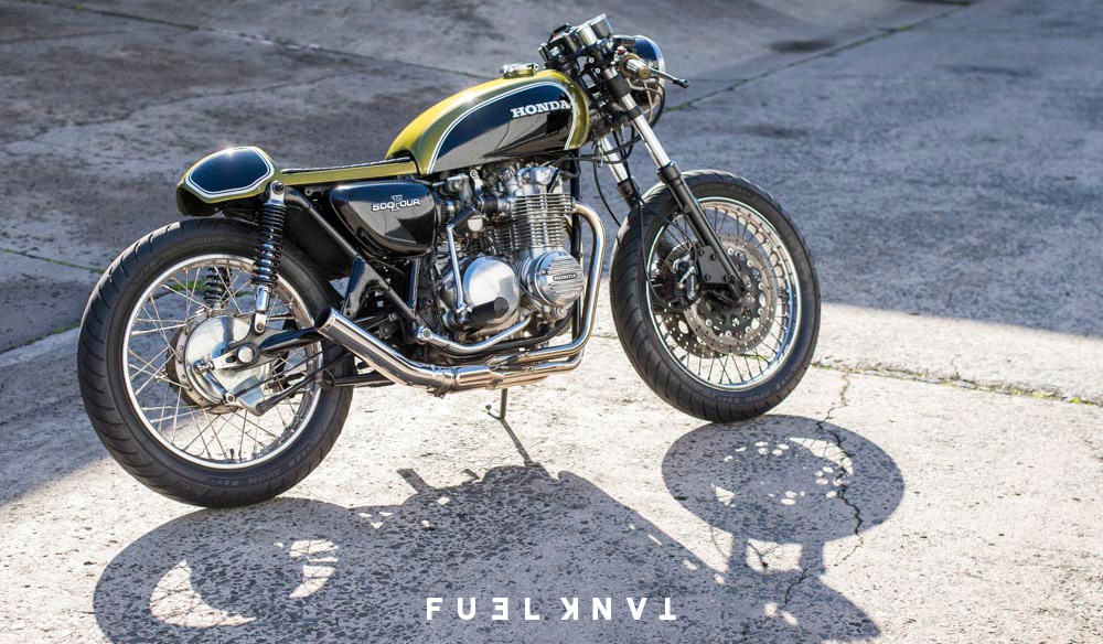 Sehr Café Racer | Jules' 1972 Honda CB500 Four [With Movie] — Fuel Tank CR47