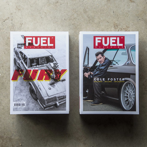 _ - We also have an extensive portion of Fuel Magazine issue 20 dedicated to Cole and his work.