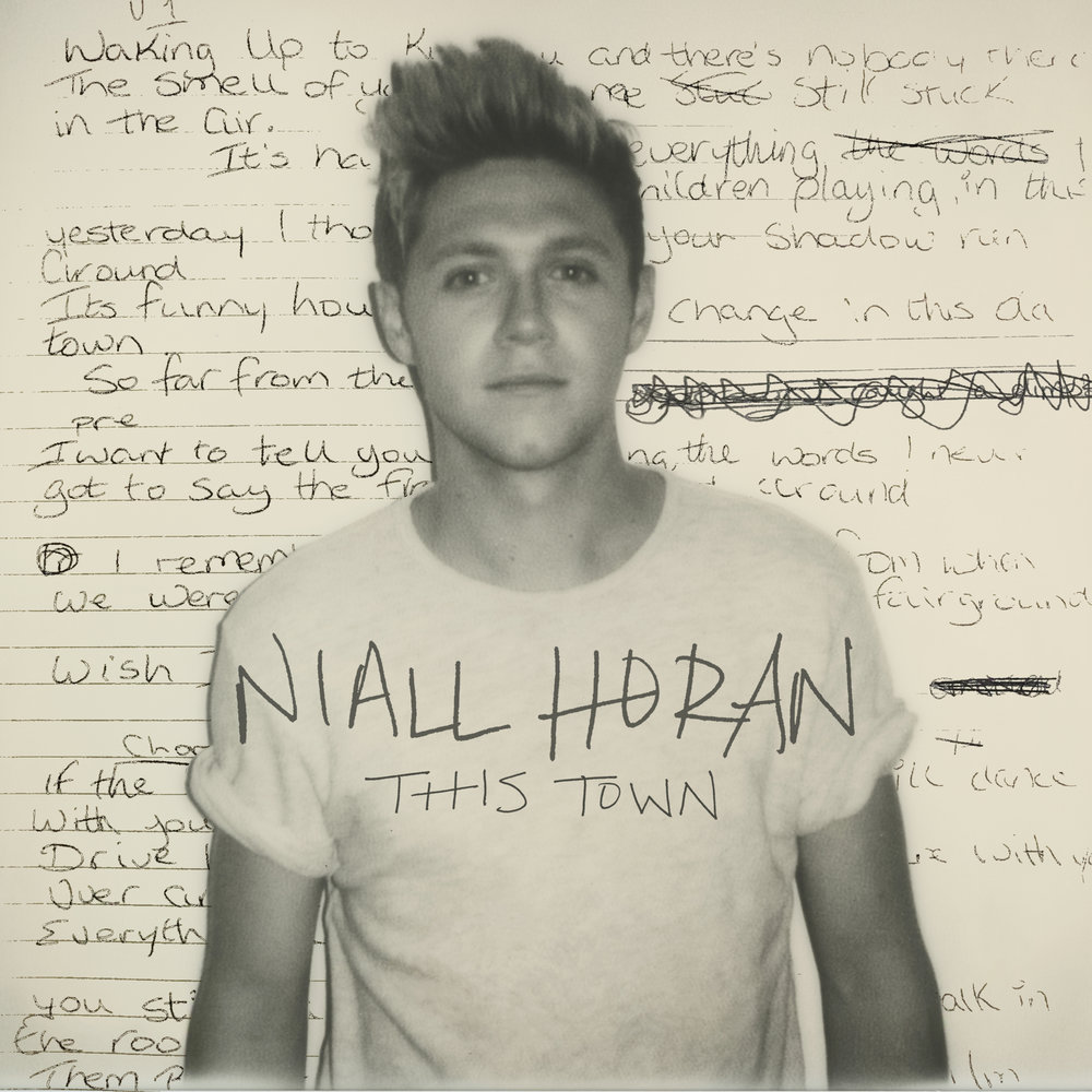 "Niall Horan ""This Town""   Single cover image"