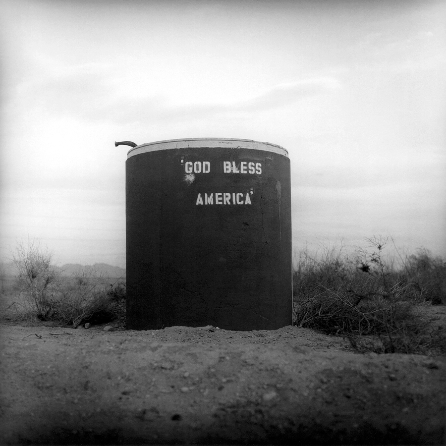 God Bless America   Slab City, California, 2004.
