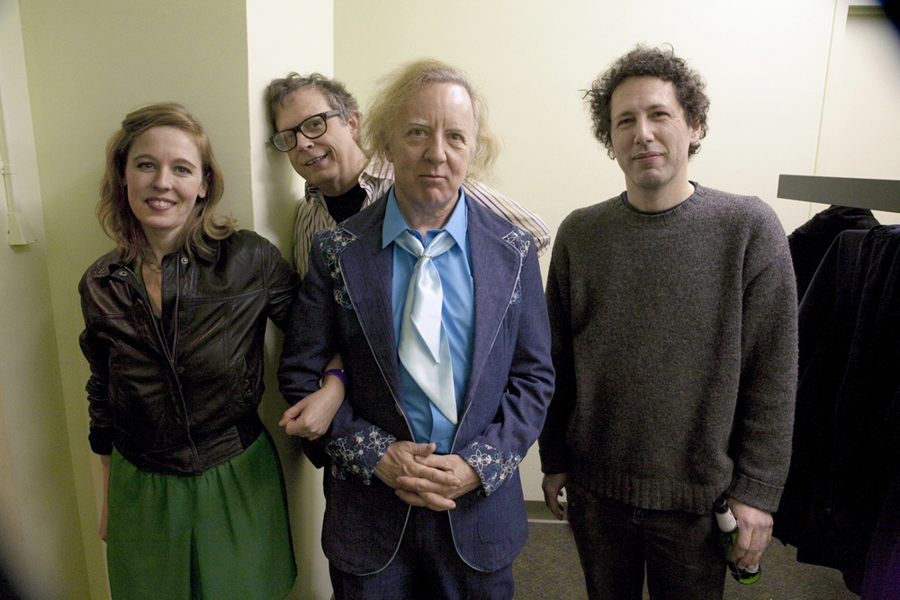 Tift Merritt, Will Rigby, Mitch Easter, and Ira Kaplan