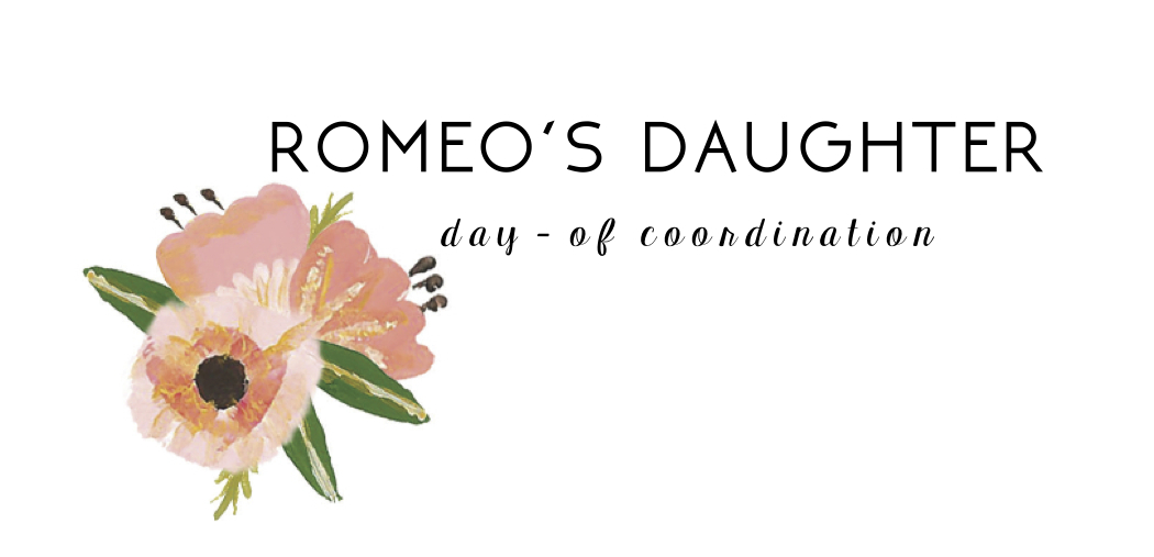 Romeo's Daughter | day-of coordination
