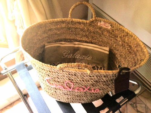Handy Basket Welcome to Our Room :: Photo Credit: Comuse Travels
