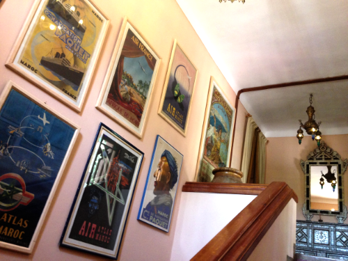 The Stairway to Our Room :: Photo Credit: Comuse Travels