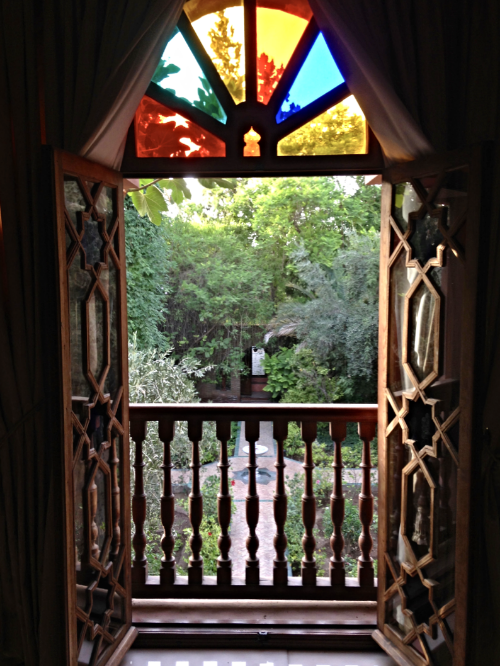 Window into the Garden of Peace :: Photo Credit: Comuse Travels