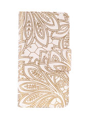 Iphone5 Cream Chantilly Diary Case Was $48.00 Now $24.00