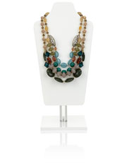 Alaska Multi Beaded Necklace Was $45.00 Now $13.50