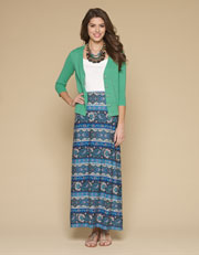 Octavia Print Maxi Skirt Was $68.00 Now $34.00