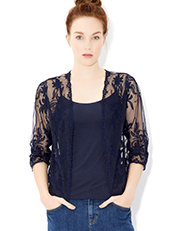 Mabel Mesh Bolero Was $68.00 Now $34.00