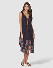 Ariana Printed Dress Was $79.00 Now $39.00