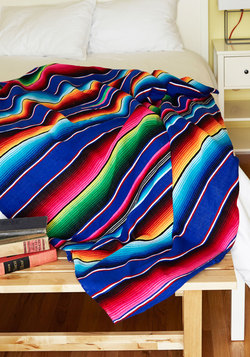 Polychromatic Cuddles Throw Blanket WAS $99.99 NOW $79.99