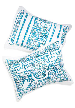 Carry Me Away Pillow Sham Set WAS $29.99 NOW $8.99