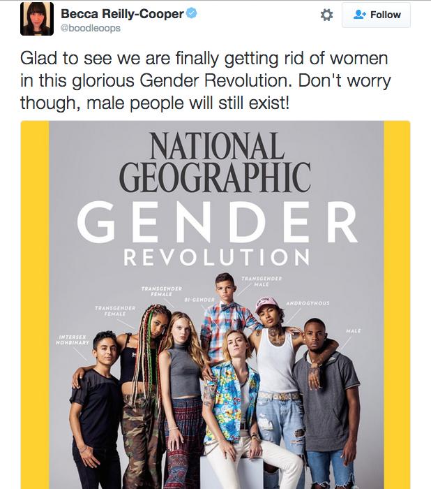 Veliko izbir, ženske nikjer, moški je.