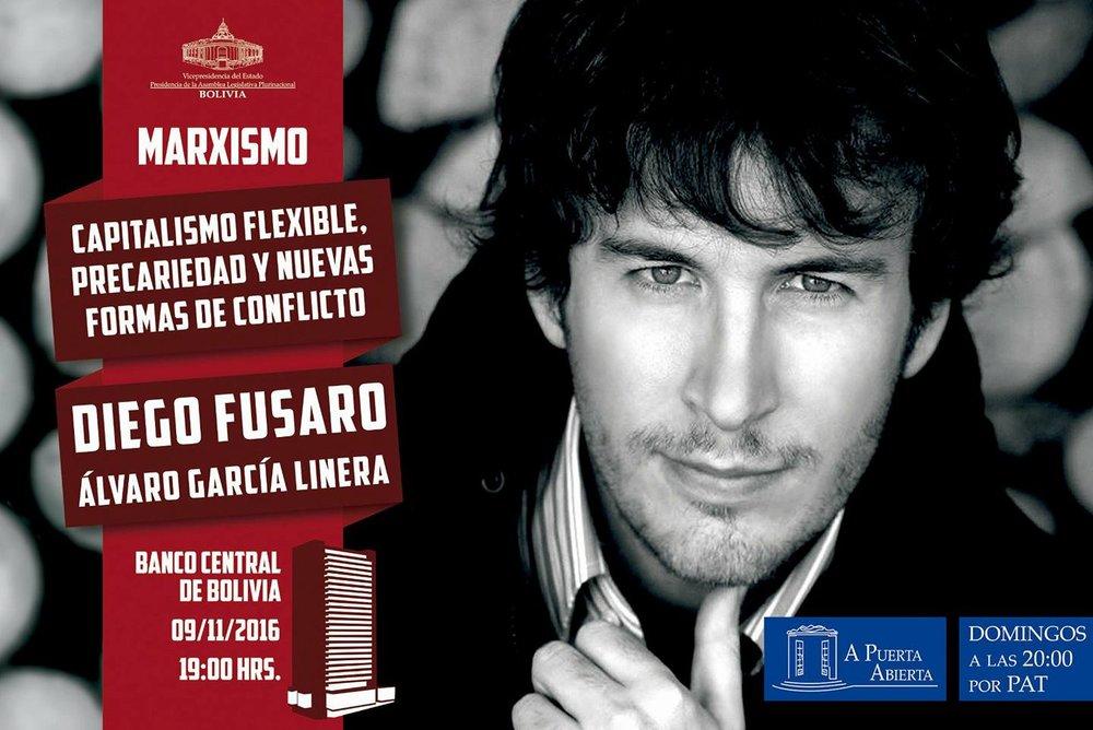 Italijanski avtor in profesor Diego Fusaro.