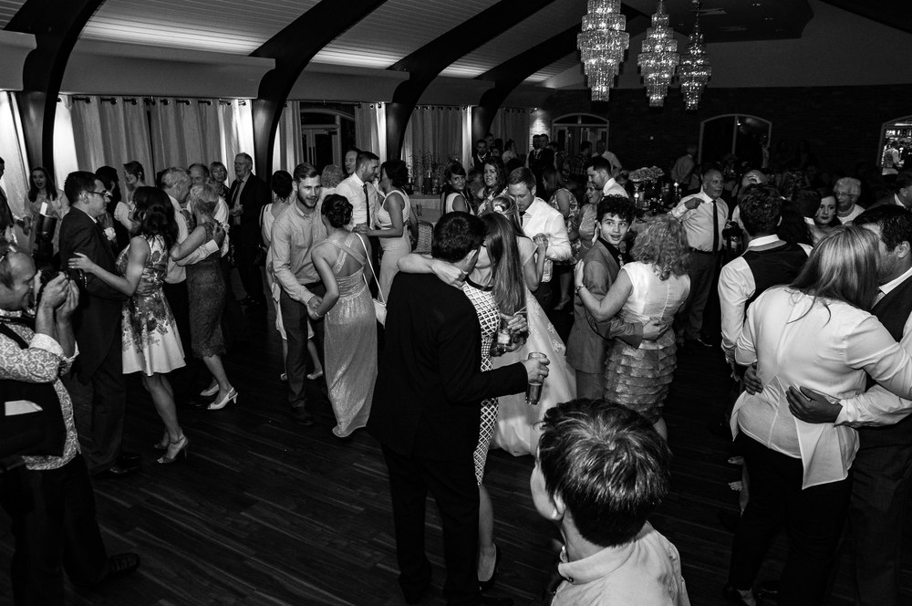 Colshaw Hall. Still the first dance.