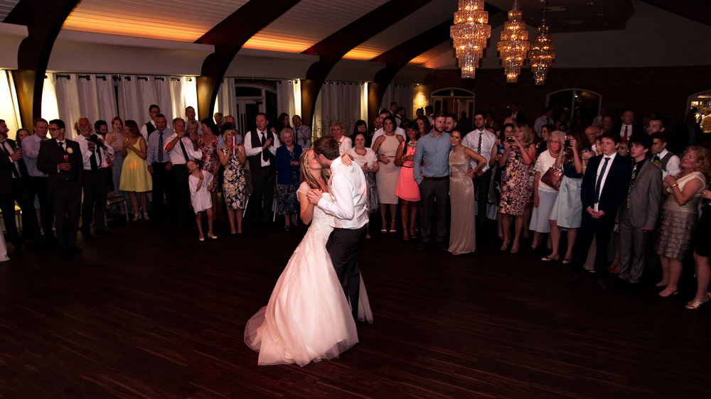 Colshaw Hall. First dance.